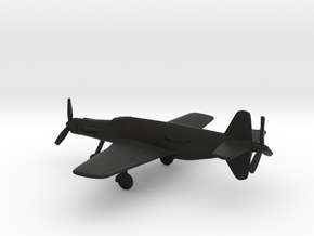 Dornier Do 335 V1 Pfeil in Black Natural Versatile Plastic: 1:200