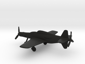 Dornier Do 335 A12 Pfeil in Black Natural Versatile Plastic: 1:200