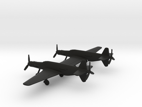 Dornier Do 335 Z Pfeil in Black Natural Versatile Plastic: 1:200