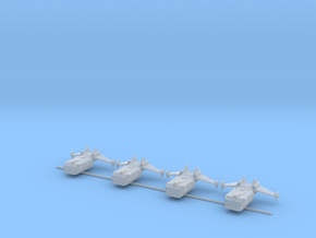 Boeing Interstellar Puma-class Dropships x4 in Smooth Fine Detail Plastic