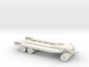 1/64 Scale M20 Trailer in White Natural Versatile Plastic