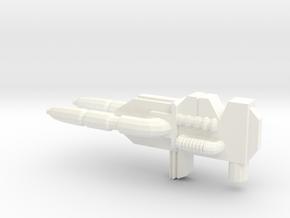 Grimlock's blaster in White Processed Versatile Plastic