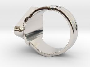 Doctor Evil Ring v2 size 12, 21.4 mm in Platinum