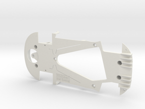 PSSX00202 Chassis for Scalextric McLren MP4-12c in White Natural Versatile Plastic