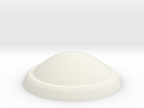 1:537 scale Taylor LowerSensorDome in White Natural Versatile Plastic