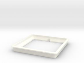 Table Mic Grommet in White Processed Versatile Plastic