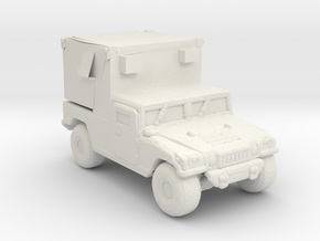 M1097A2 MSE 220 scale in White Natural Versatile Plastic