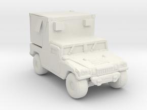 M1097A2 MSE 285 scale in White Natural Versatile Plastic