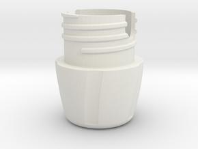 35mm Film Case Base in White Natural Versatile Plastic