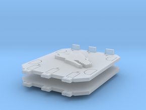 Fire Dragons Jericho tank doors #1 in Smooth Fine Detail Plastic