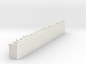 hadrian's wall 1/144 in White Natural Versatile Plastic