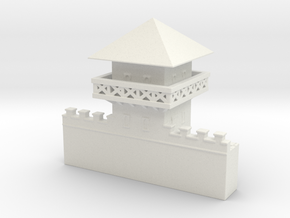 hadrian's wall Watchtower 1/100 in White Natural Versatile Plastic