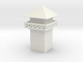 roman Watchtower 1/100 in White Natural Versatile Plastic