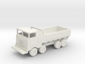 1/144 Scale M656 Truck in White Natural Versatile Plastic