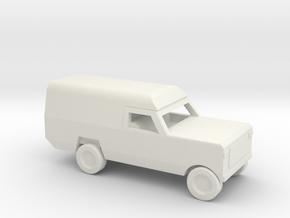 1/144 Scale Dodge Pickup Ambulance M886 in White Natural Versatile Plastic