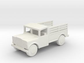 1/144 Scale M715 Jeep 1 25 Ton Cargo Truck in White Natural Versatile Plastic