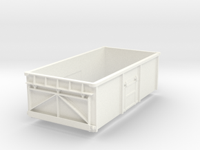 1/32 16t mineral body without top door in White Processed Versatile Plastic
