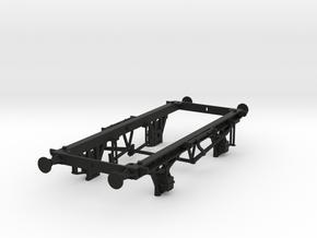 7mm 16t mineral chassis for Triang and Lima body. in Black Natural Versatile Plastic