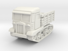 STZ-5 tractor 1/87 in White Natural Versatile Plastic
