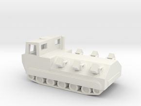 1/144 Scale M548 Mine Layer in White Natural Versatile Plastic