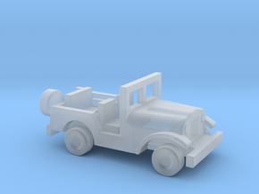 1/144 Scale M38A1 Jeep in Smooth Fine Detail Plastic