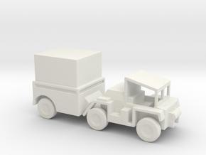 1/144 Scale M561Gama Goat Box in White Natural Versatile Plastic
