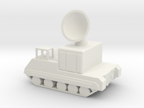 1/144 Scale M474 Radar in White Natural Versatile Plastic