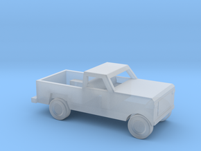 1/144 Scale Dodge Pickup in Smooth Fine Detail Plastic
