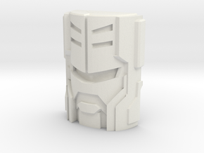 Armada Sideways Inner Faceplate (TR/PotP) in White Natural Versatile Plastic