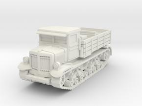 Voroshilovets tractor 1/100 in White Natural Versatile Plastic