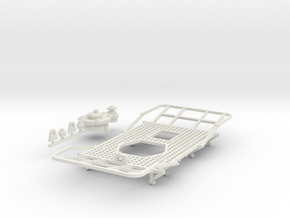 7mm TUB Phosphoric acid tank deck and hatch in White Natural Versatile Plastic