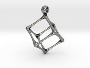 HEXAHEDRON in Antique Silver