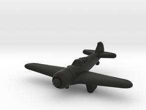 La-5 Fighter (Russia) in Black Premium Versatile Plastic