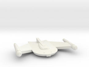 3125 Scale Romulan Snipe-B Battle Frigate MGL in White Natural Versatile Plastic