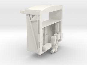 Huesker-Kloos-System  in White Natural Versatile Plastic