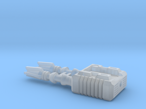 TF CW Dead End XL Car Cannon in Smooth Fine Detail Plastic