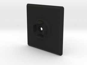 Panel Adapter for Scosche MagicMount Charge in Black Natural Versatile Plastic