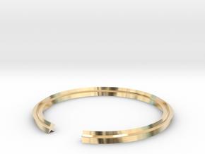 Star 18.53mm in 14k Gold Plated Brass