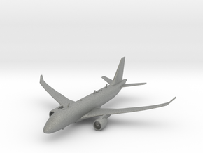 Airbus A220-100 in Gray Professional Plastic