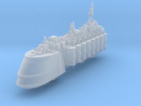 Barcaza de suministros de comerciantes independien in Smooth Fine Detail Plastic