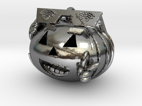 GVC Peace Pumpkin in Polished Silver