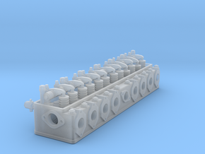 ETS25001 - H39 Cylinder head - scale 1:25 in Smoothest Fine Detail Plastic