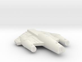 3788 Scale ISC Dreadnought (DN) SRZ in White Natural Versatile Plastic