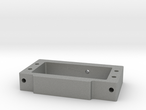 WT01/WR01 Servo Mount in Gray Professional Plastic