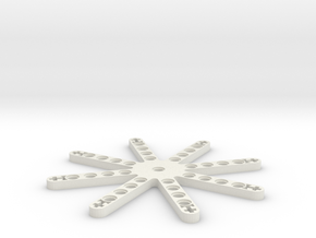 LEGO THRUSTER STAR in White Natural Versatile Plastic