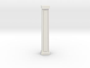 pillar in White Natural Versatile Plastic: 1:8