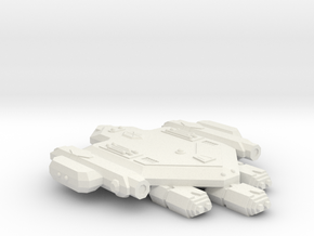 3125 Scale Orion Heavy War Destroyer (HDW) CVN in White Natural Versatile Plastic