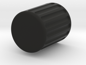 Desktop Trash Can in Black Natural Versatile Plastic