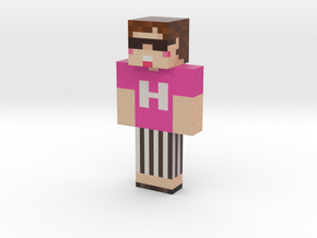 HikakinGames | Minecraft toy in Natural Full Color Sandstone