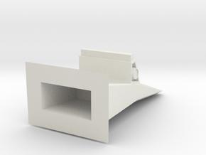 console3 in White Natural Versatile Plastic